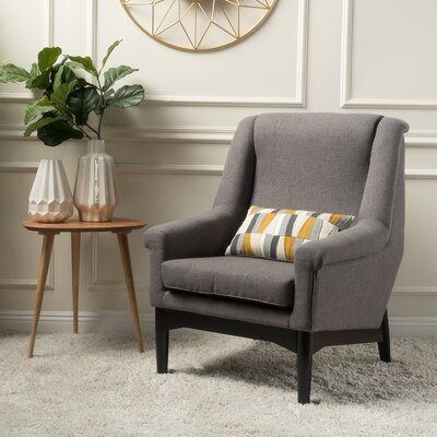Cuyler Armchair Upholstery: Dark Gray