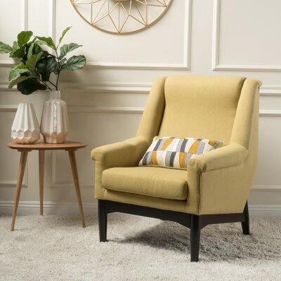 Cuyler Armchair Upholstery: Bright Green