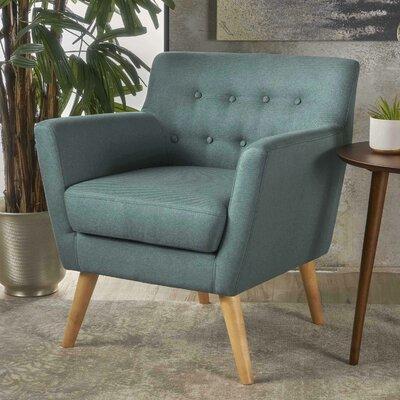 Brownville Armchair Upholstery: Dark Teal