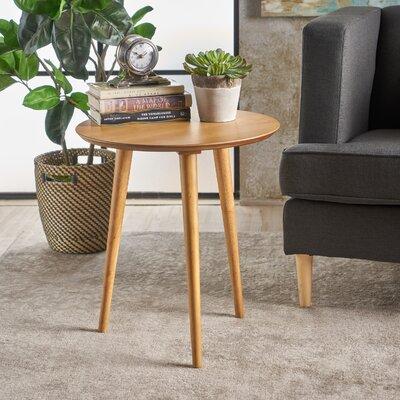 Pawlet Wood End Table Color: Oak