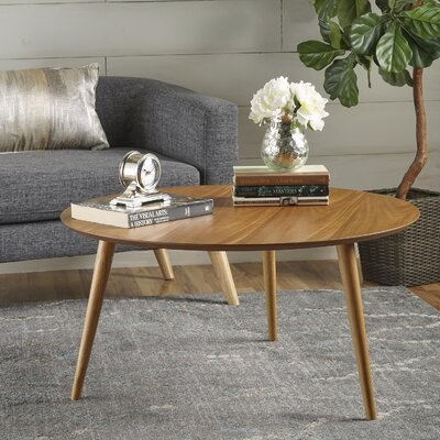 Peacham Wood Coffee Table Color: Oak