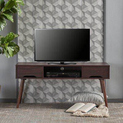 Verdi Fiberboard 47.4 TV Stand Color: Wenge