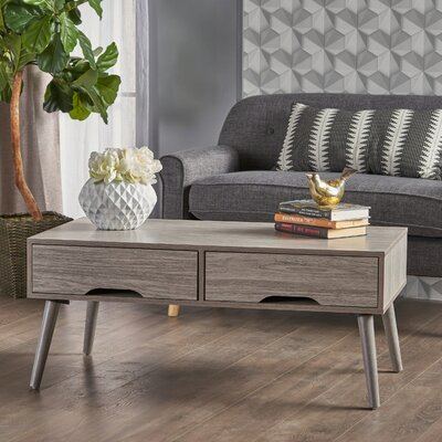 Veras Coffee Table Color: Gray