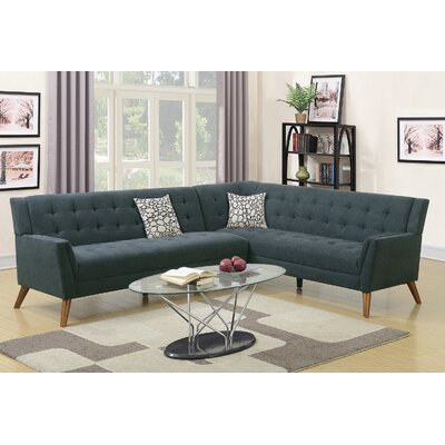 Venters Sectional Upholstery: Slate