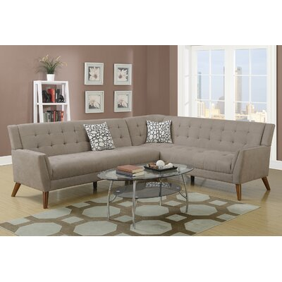 Venters Sectional Upholstery: Sand