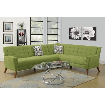 Venters Sectional Upholstery: Willow