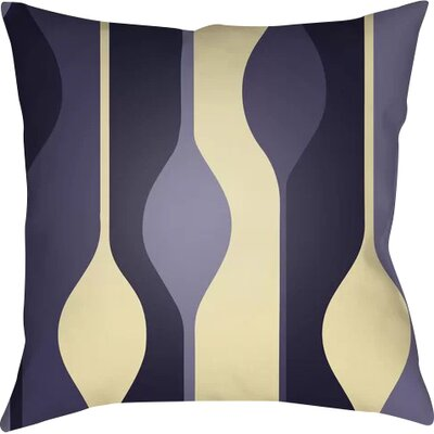 Wakefield Throw Pillow Size: 22 H �x 22 W x 5 D, Color: Purple