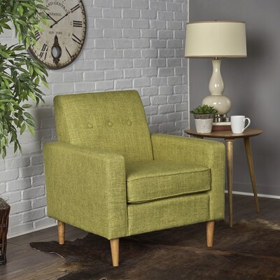 Vytis Armchair Upholstery: Muted Green