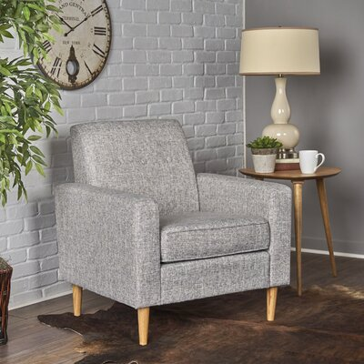 Vytis Armchair Upholstery: Light Gray