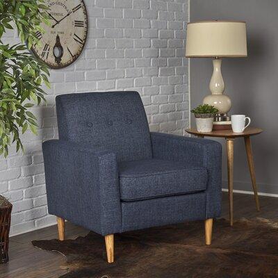 Vytis Armchair Upholstery: Dark Blue