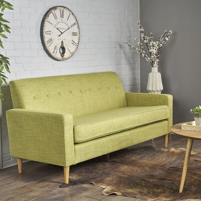 Wachtel Sofa Upholstery: Muted Green