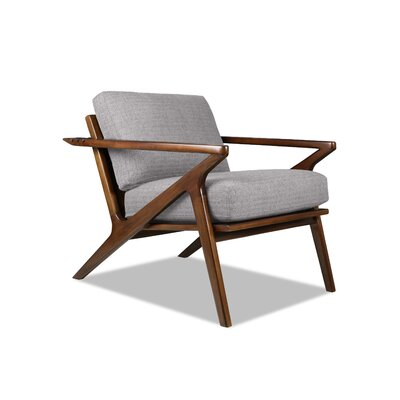 Hinesburg Arm Chair Upholstery: Gray