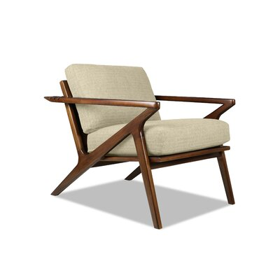 Hinesburg Arm Chair Upholstery: Sand