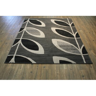 Willsbridge Gray Indoor Area Rug Rug Size: Rectangle 8 x 11