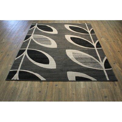 Willsbridge Gray Indoor Area Rug Rug Size: Rectangle 8 x 11