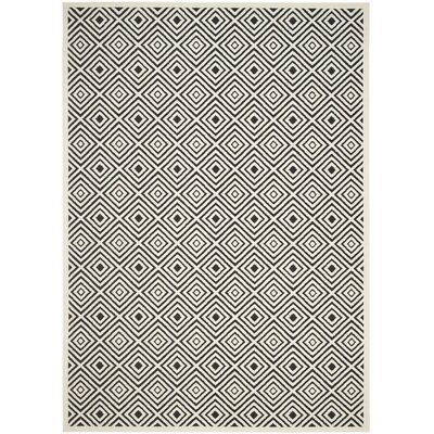 Woodford Cream/Anthracite Indoor/Outdoor Area Rug Rug Size: Rectangle 8 x 11 12