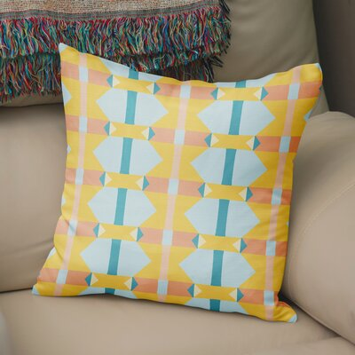 Valenza Throw Pillow Size: 18 x 18