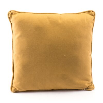 Vanlandingham Canvas Throw Pillow Color: Yellow