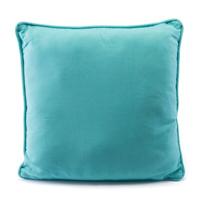 Oyler Canvas Throw Pillow Color: Turquoise