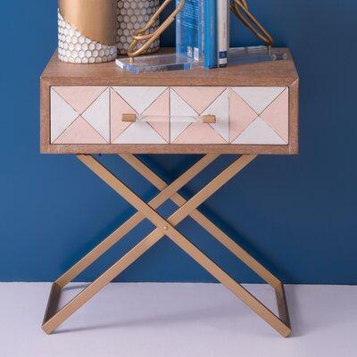 Vanhouten End Table with Storage