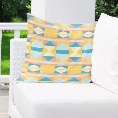 Valenti Outdoor Throw Pillow Size: 26 x 26