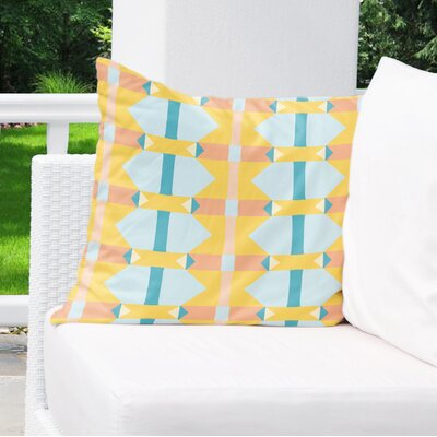Valenza Outdoor Throw Pillow Size: 18 x 18