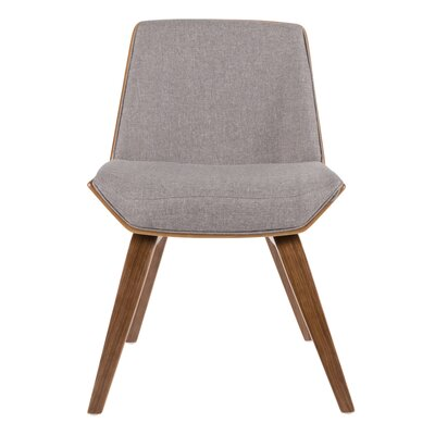 Bulgary Upholstered Dining Chair Color: Grey
