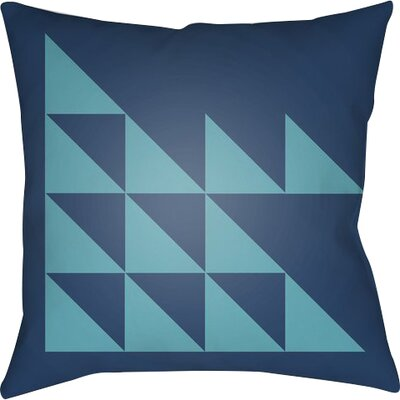 Wakefield Geometric Square Indoor Throw Pillow Size: 22