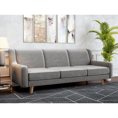 Weigel Sofa Upholstery: Charcoal Gray