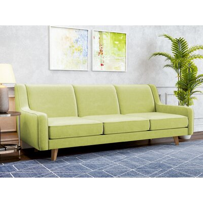 Weigel Sofa Upholstery: Wheatgrass Green