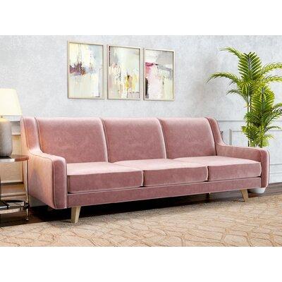 Kaye Sofa Upholstery: Blush Pink