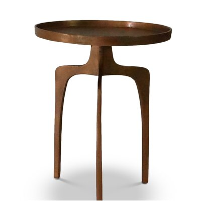 Weiland End Table Color: Copper