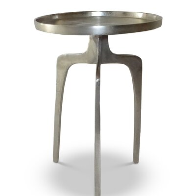 Weiland End Table Color: Silver