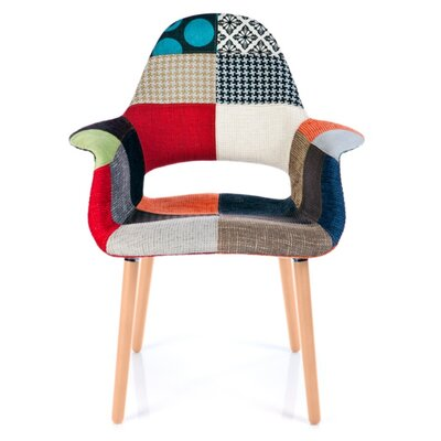 Westerleigh Patchwork Upholstered Dining Chair