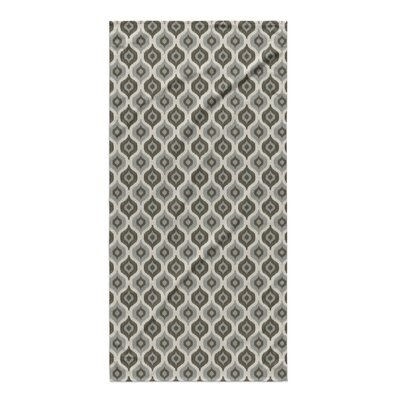 Underhill Beach Towel Color: Grey/ Ivory