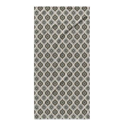 Underhill Beach Towel Color: Grey/ Ivory