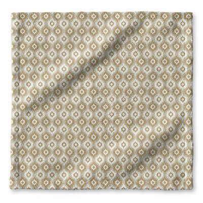Underhill Geometric Wash Cloth Color: Tan/ Ivory/ Gold