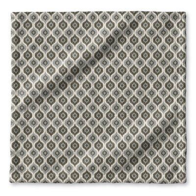 Underhill Geometric Wash Cloth Color: Grey/ Ivory
