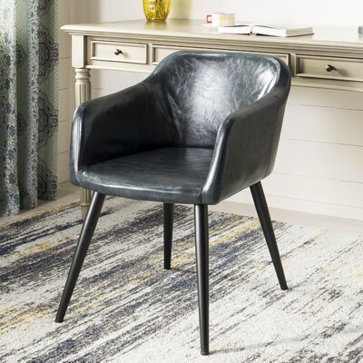 Zepeda Accent Armchair Upholstery: Dark Gray