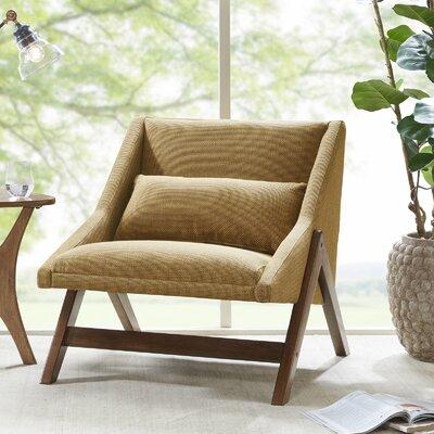Deerpark Lounge Chair Upholstery: Mustard Yellow