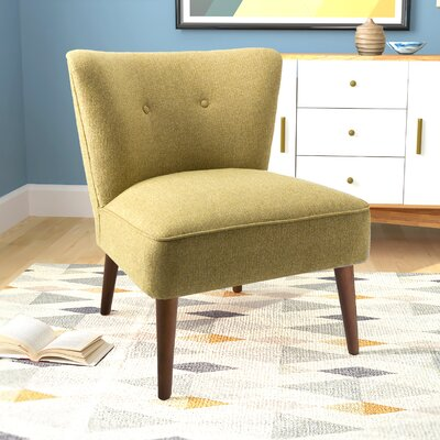 Westfield Armless Side Chair Upholstery: Green