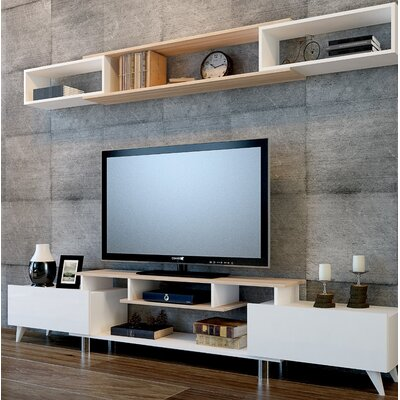 Cevallos 59 TV Stand Color: Cordoba