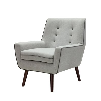 Diggs Armchair Upholstery: Sliver