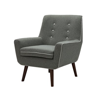 Diggs Armchair Upholstery: Dark Gray