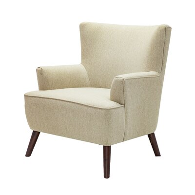 Digiacomo Wingback Chair Upholstery: Beige