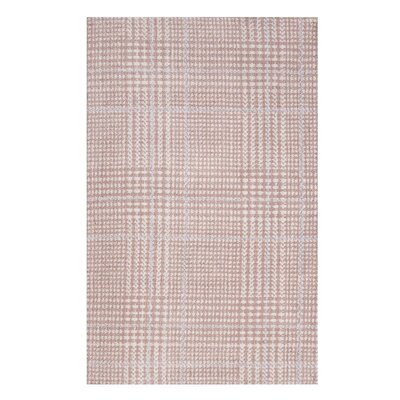 Wiegand Pink/Gray Area Rug Rug Size: Rectangle 5x 8