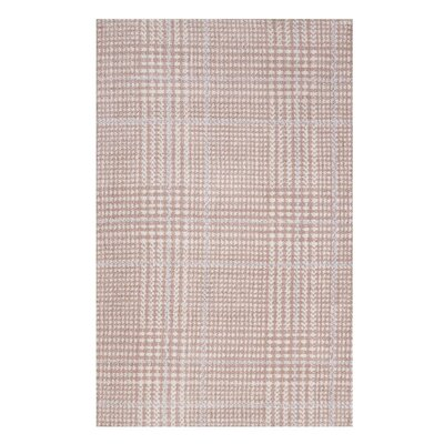 Wiegand Pink/Gray Area Rug Rug Size: Rectangle 8 x 10