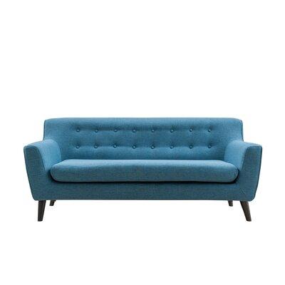 Cassity Modern Sofa Upholstery: Blue