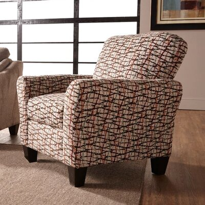Serta Upholstery Arm Chair Upholstery: Furby Chocolate