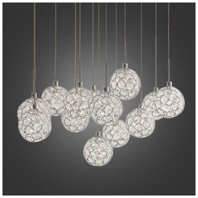 Marcos 13-Light Cascade Pendant